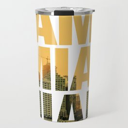 Miami Landscape Travel Mug