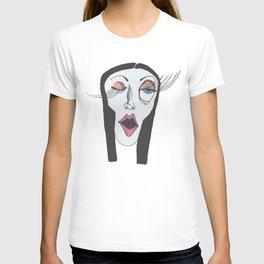 Winking Woman T-shirt