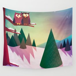 Twilight In The Woods Wall Tapestry