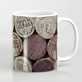 Vintage Wine Corks Coffee Mug