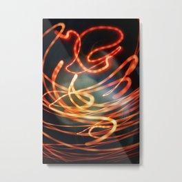 Cozmogonizm Series #44, Color Film, Analog, Art Photo, NUDE Metal Print