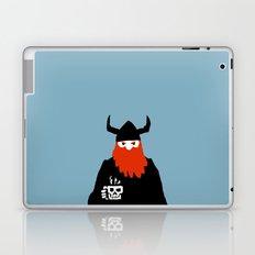 Viking and his morning coffee Laptop & iPad Skin