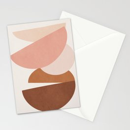 Abstract Stack II Stationery Cards