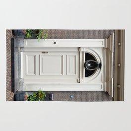 White church door Rug