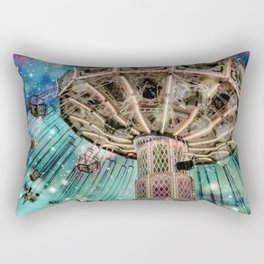 Dip Your Toes In the Stars Rectangular Pillow