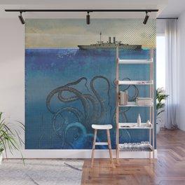 Sea Monster Wall Mural