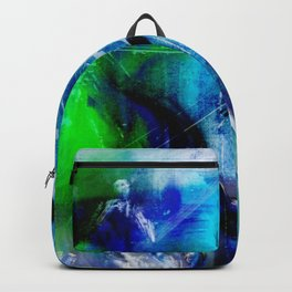Behind broken glass Backpack