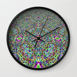 Love All the Way to Heaven Wall Clock