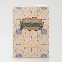 journey Stationery Cards featuring Journey by Skuishy