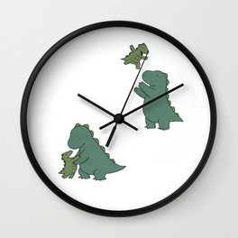 Rory & Dad Wall Clock