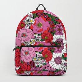 Vintage Florals Geranium Backpack
