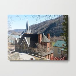 Harper's Ferry WV Church Metal Print