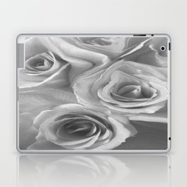 Roses in Black and White Laptop & iPad Skin