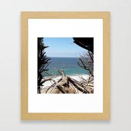 Pacific Hideaway Framed Art Print
