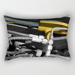 Hydraulic Muscle Rectangular Pillow