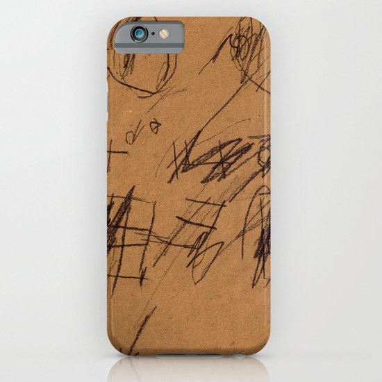 BLACK DRAWINGS I iPhone & iPod Case
