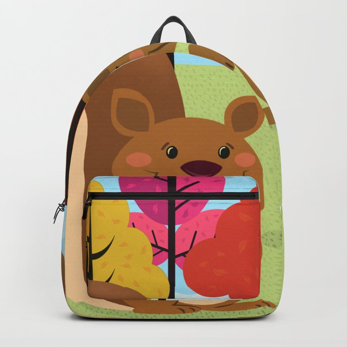 Let The Acorns Fall Backpack
