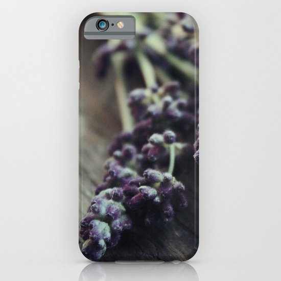 Lavender Harvest iPhone & iPod Case