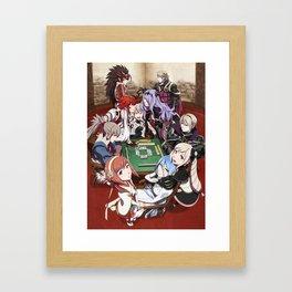 Mahjong Fates Framed Art Print
