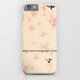 She Flies iPhone Case