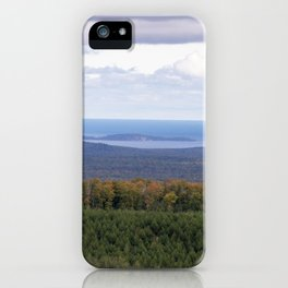 Huron Islands and Huron Mountains iPhone Case