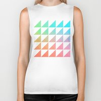 gradient Biker Tanks featuring Gradient by Fimbis