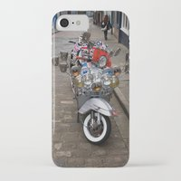 vespa iPhone & iPod Cases featuring Vespa by Organdie