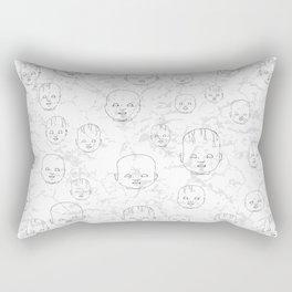 Dolls #4 Rectangular Pillow