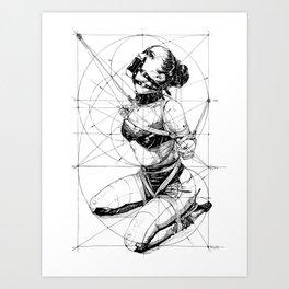 Restrained In Geometry. ©Yury Fadeev Art Print