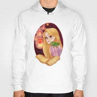 rapunzel Hoodies featuring Rapunzel by Naineuh