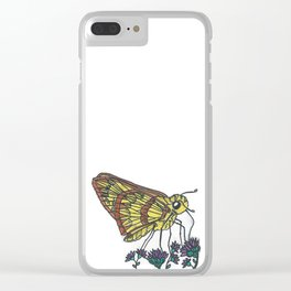 Fiery Skipper Clear iPhone Case