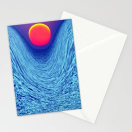 Magic Sunset Stationery Cards