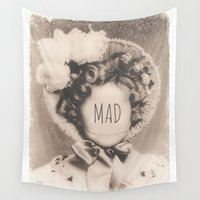 mad Wall Tapestries featuring MAD by Oddworld Art