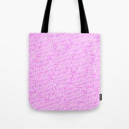 Microchip Pattern (Pink) Tote Bag