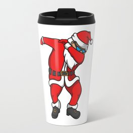 Santa Funny Christmas Travel Mug