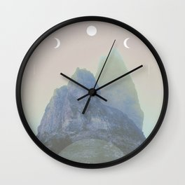 Saddlerock Moons Wall Clock