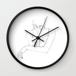 Silence 2 Wall Clock