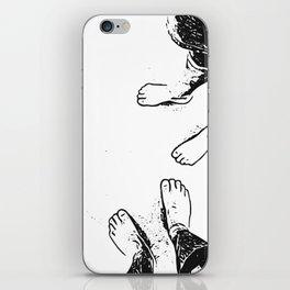 Feet on the sand iPhone Skin