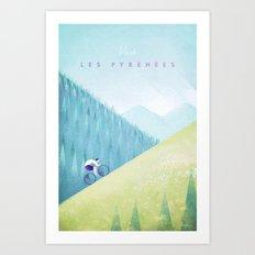 Pyrenees Art Print