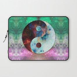 Ying-Yang Galaxy Laptop Sleeve