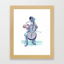 JOSHUA MCCLAIN, Semi-Nude Male by Frank-Joseph Framed Art Print