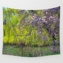 influence: monet Wall Tapestry