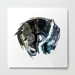 Horse Lover Metal Print