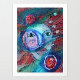 Ophilia Art Print