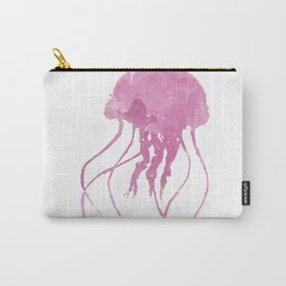Watercolor Jellyfish Carry-All Pouch