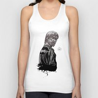 rick grimes Tank Tops featuring The Walking Dead Rick Grimes by Cursed Rose