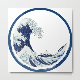 The Big Wave 2 Metal Print