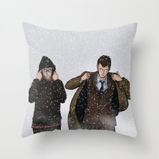 TIME BROS - Doctor Who Throw Pillow