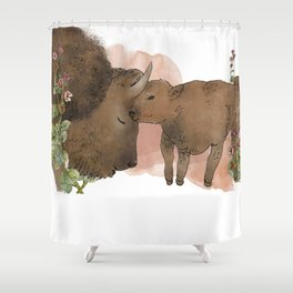 The American Bison Shower Curtain