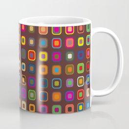 Retro Squares Coffee Mug